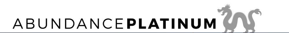 Abundance Platinum Logo with Dragon