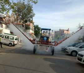 Delhi Disinfection
