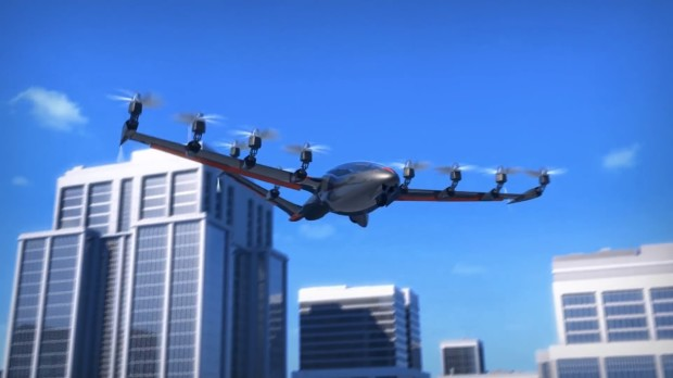 flying air taxis
