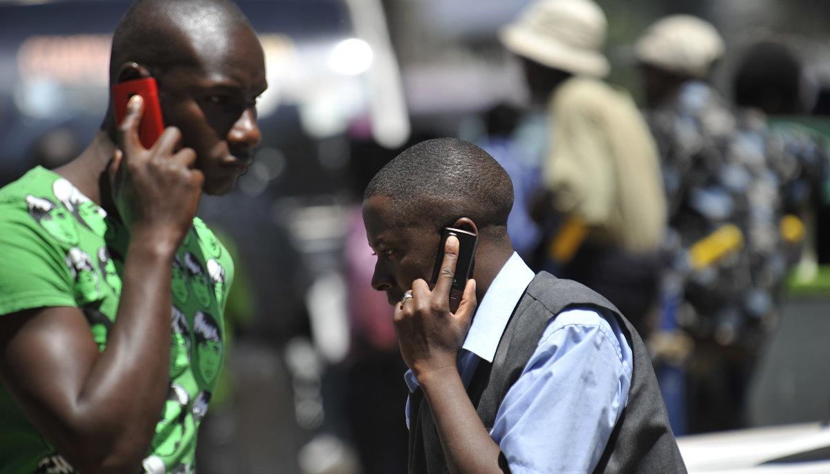 kenya phone study
