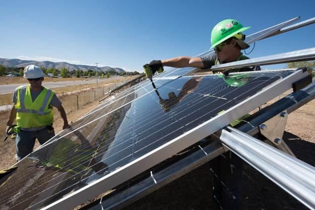 solar energy employment united states