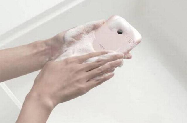 kyocera washable smartphone