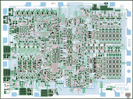The Intel 4004 Integrated Circuit