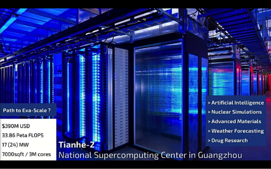 Tianhe-2: The most powerful super computer on the planet