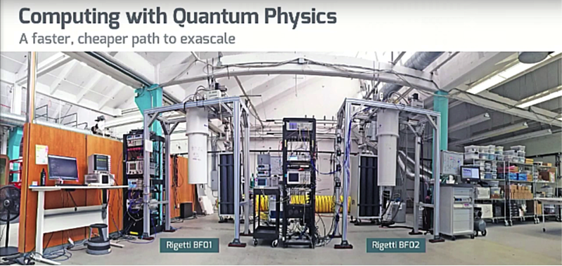 Developmental quantum computing systems, Rigetti Computing