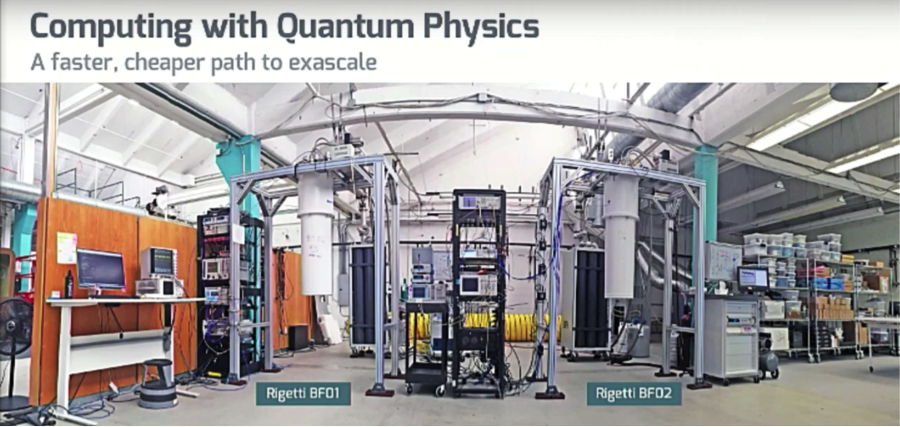 Developmental quantum computing systems, Rigetti Computing