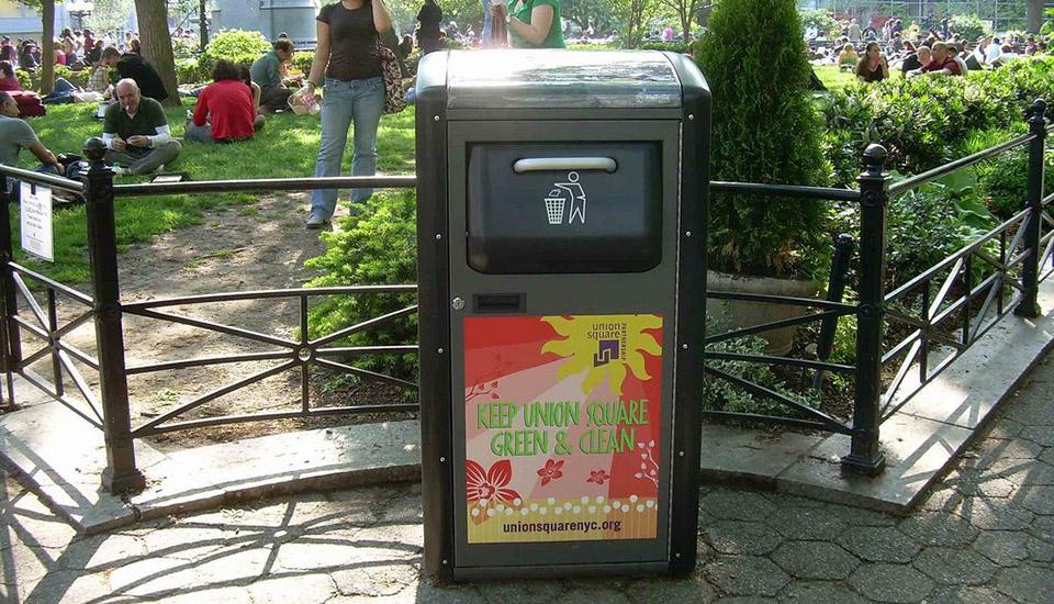 bigbelly trash cans