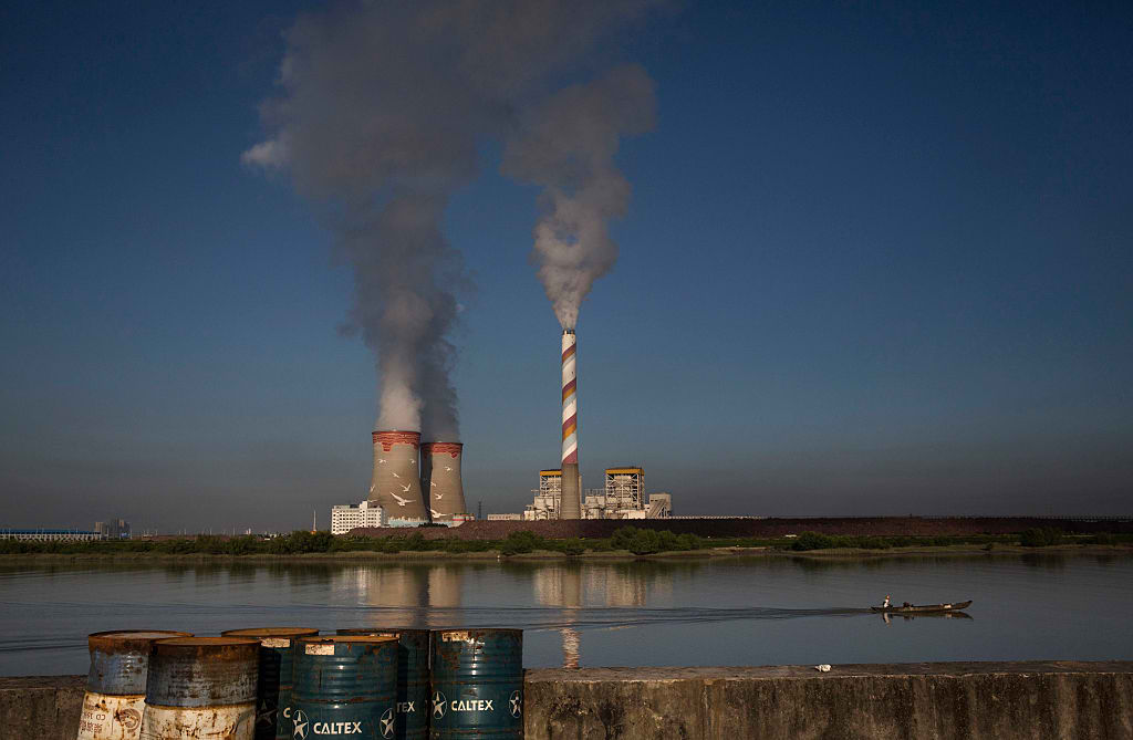 china coal plant cancellation