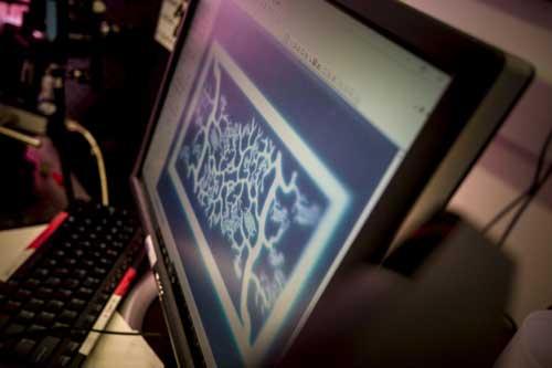 3d printed biomimetic blood vessel networks