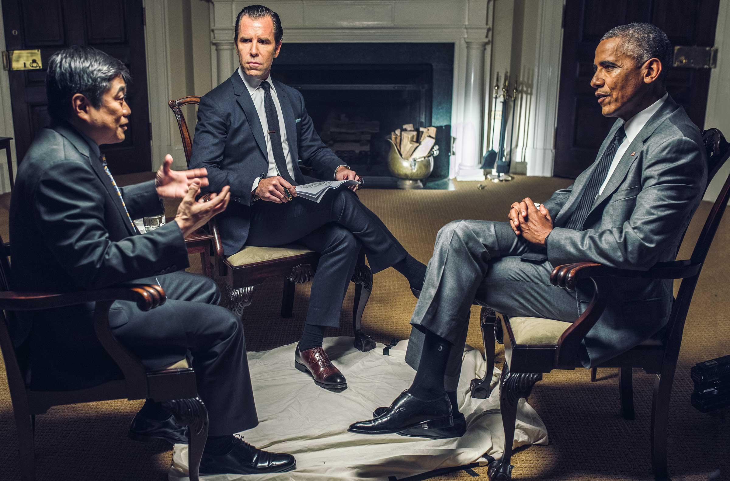 joi ito scott dadich president obama interview