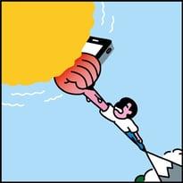 self charging phone