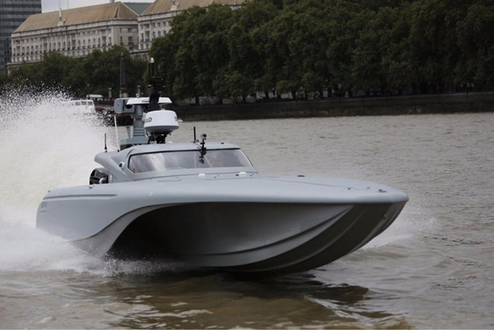 royal navy self driving speedboat