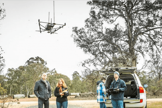 wildlife drone tracking