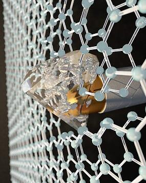 TWO-LAYER GRAPHENE BECOMES A DIAMOND-HARD MATERIAL ON IMPACT, WHICH COULD MAKE SUPER-ARMOR