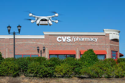 UPS and CVS drone delivery