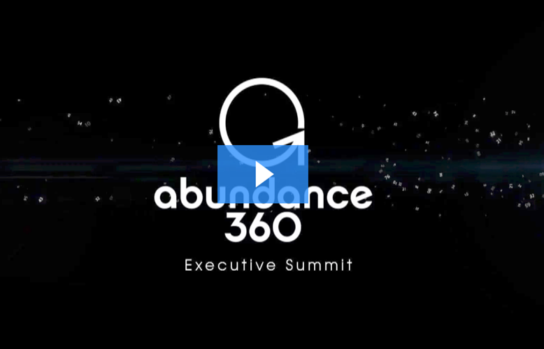 Watch this video about Abundance 360