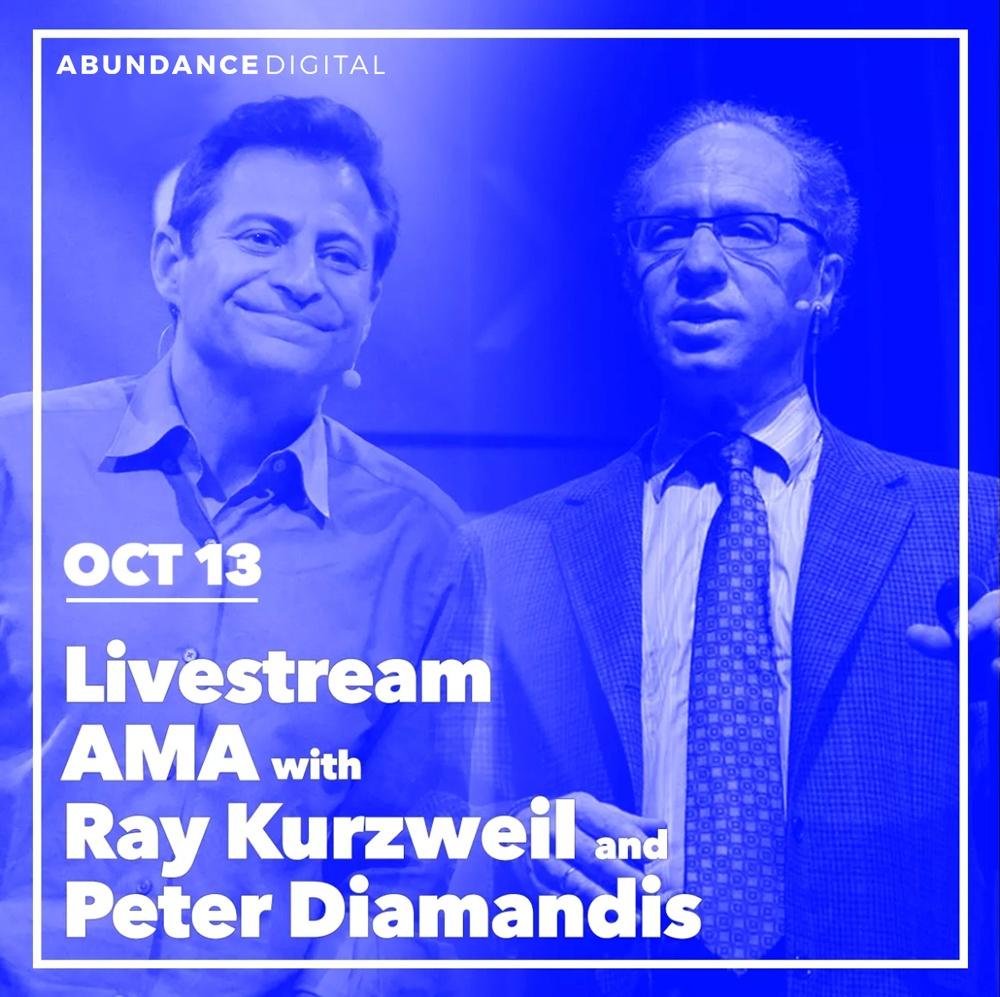 Ray Kurzweil Peter Diamandis