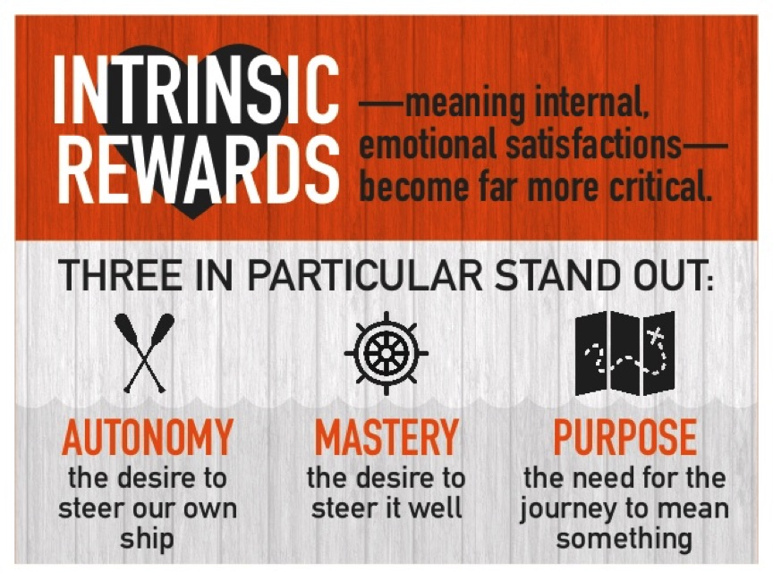 Meaning of Intrinsic Rewards