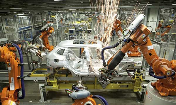 unmanned factory