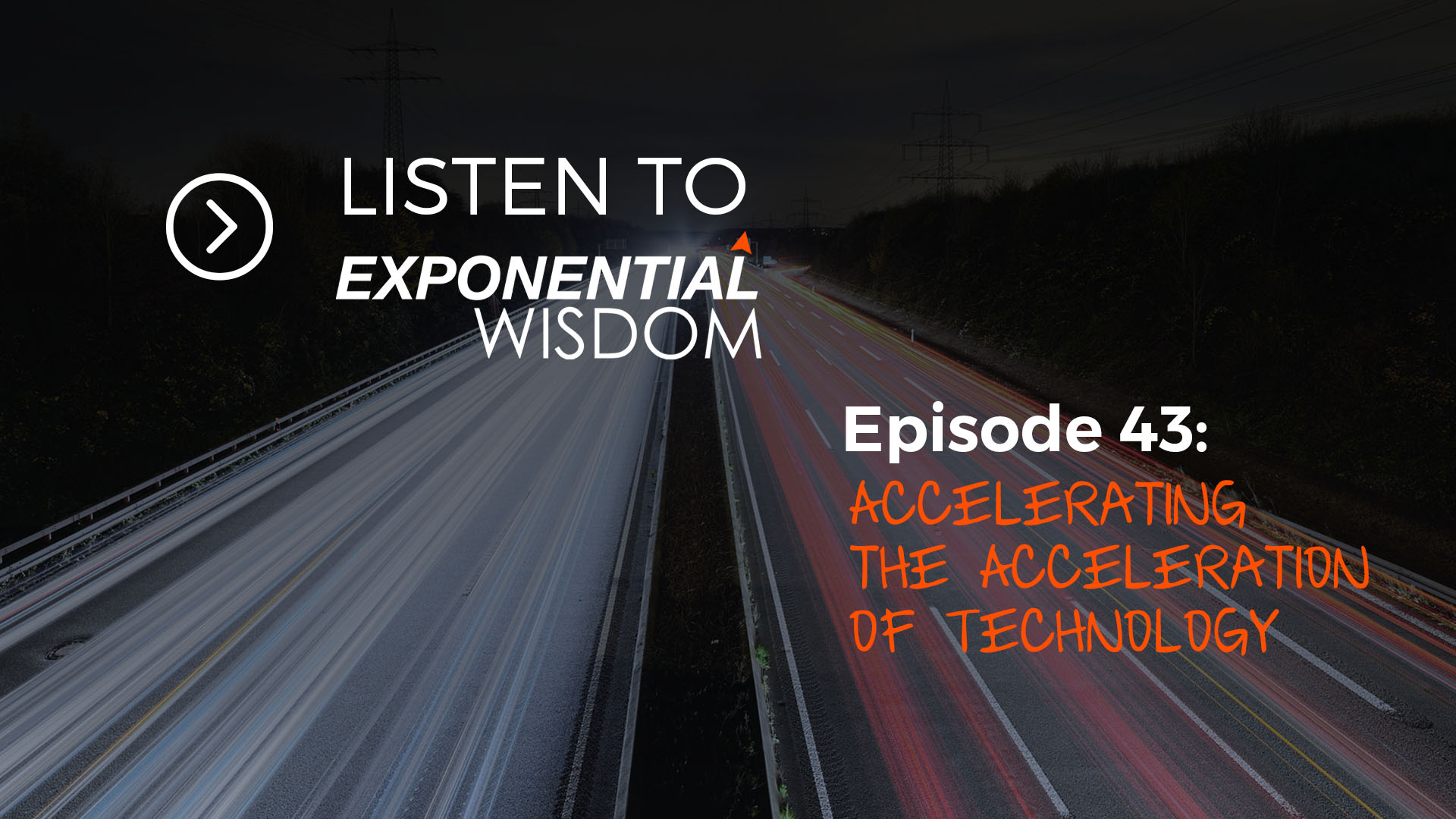 Accelerating the Acceleration of Technology