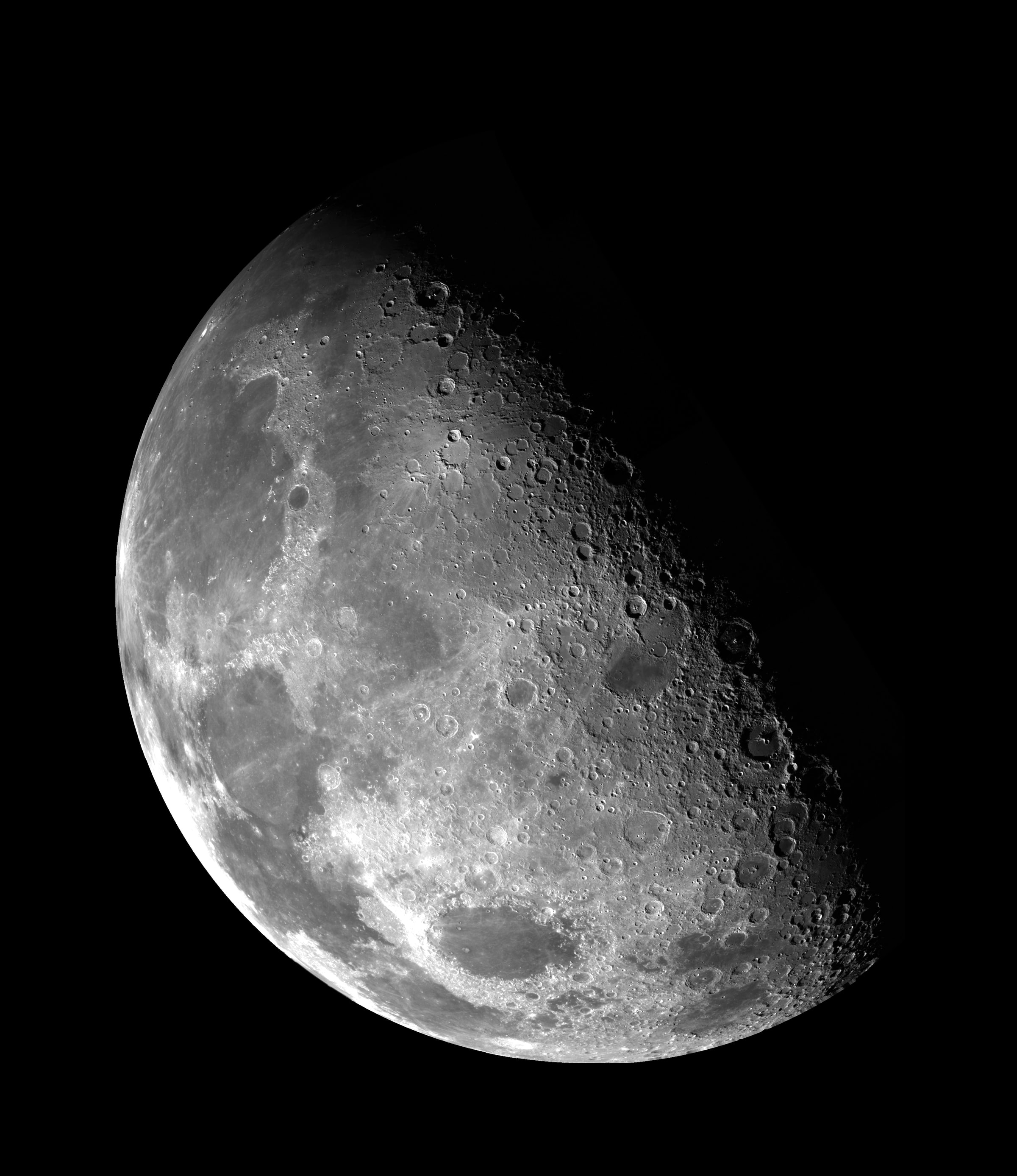 NASA picture of the moon